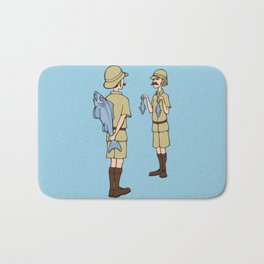 Fish Slapping Dance Bath Mat