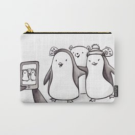 PENGUIN PHOTOBOMB Carry-All Pouch