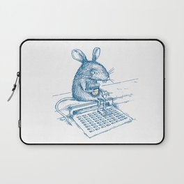 Cup O' Coffee NYC Style_rat Laptop Sleeve
