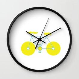 Mustache Bike Wall Clock