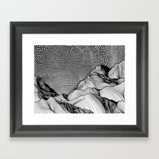 Gust Framed Art Print