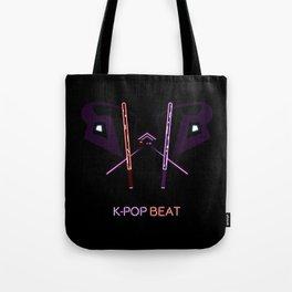 K-POP Beat V2 Tote Bag