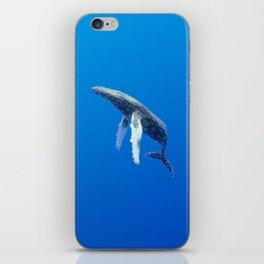 Geometric Humpback Whale iPhone Skin