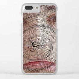 Ordem Espontânea Clear iPhone Case