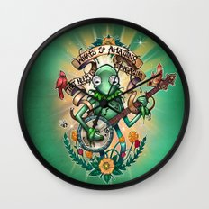 Star Gazer Wall Clock