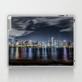 Chicago Skyline From the Adler Planetarium Part 2 Laptop & iPad Skin