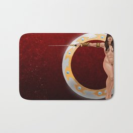 Warrior Woman Bath Mat