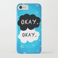 okay iPhone & iPod Cases featuring Okay. Okay. by Kate & Co.