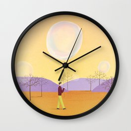 The moment you want to capture Wall Clock