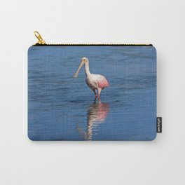 Roseate Spoonbill at Ding IV Carry-All Pouch