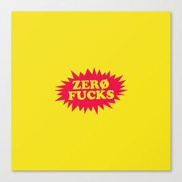 zero 2 Canvas Print