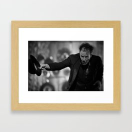 Tom Waits - Thanks Framed Art Print