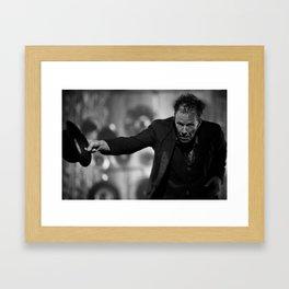 Tom Waits - Thanks Framed Art Print
