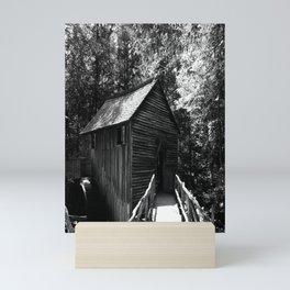 Living the backwoods dream Mini Art Print