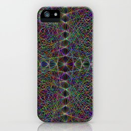 Lasers Net iPhone Case