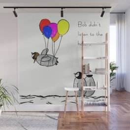 To be a Flying Penguin Wall Mural