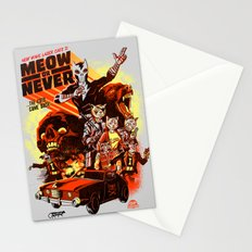 New Wave Laser Cats 2: Meow or Never Stationery Cards