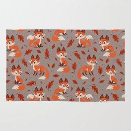 Cute Foxes Rug
