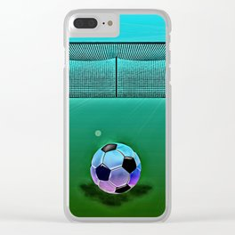 Soccer 2 Clear iPhone Case