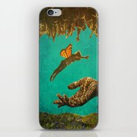 let it go iPhone & iPod Skins featuring Let Go by Brianne Lanigan