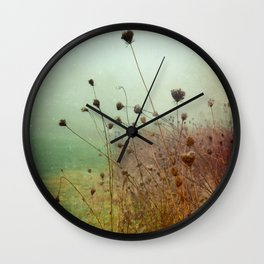 A Dense Fog Surrounded Her Wall Clock
