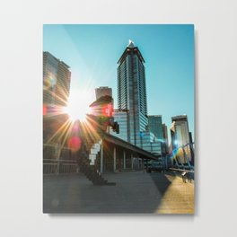 Downtown Vancouver Beauty Metal Print