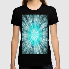 Teal Blue Mandala T-shirt