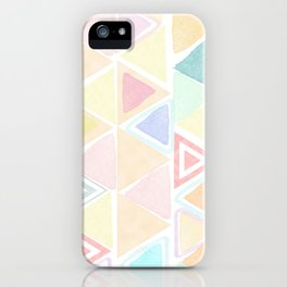 Triangle watercolor fantasy iPhone Case