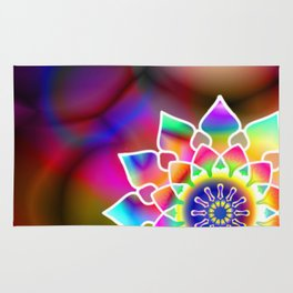 Hippie mandala Rug