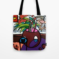 POTHEAD and the COVETED GLASS EYE Tote Bag