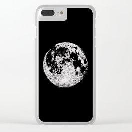 Lunar Love Clear iPhone Case
