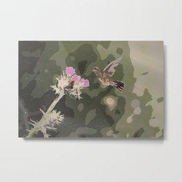 Fly for life Metal Print