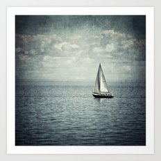 Pleasure Boat Art Print