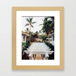 Grand Paradise View Framed Art Print