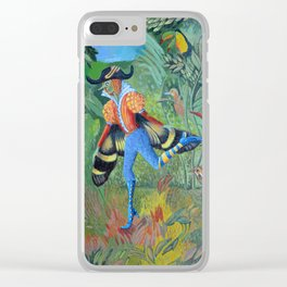 Butterfly elf Clear iPhone Case