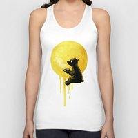 freeminds Tank Tops featuring Honeymoon by Freeminds