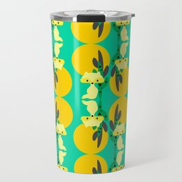 Desert fox pattern Travel Mug