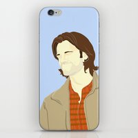 sam winchester iPhone & iPod Skins featuring Sam Winchester by thefluidlines
