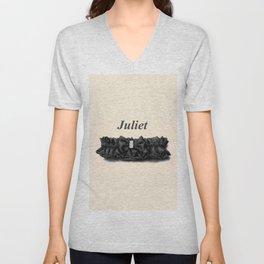 Juliet Unisex V-Neck