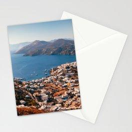 Leros Island Landscape Stationery Cards
