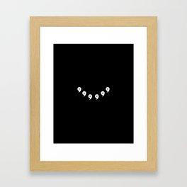 Rikudou Sennin V2 Framed Art Print