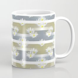 Mix of formal and modern with anemones and stripes 1 Coffee Mug