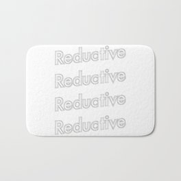 Reductive  Bath Mat