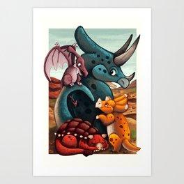 DinoTime Art Print