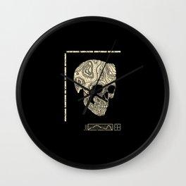 Skullography  Wall Clock