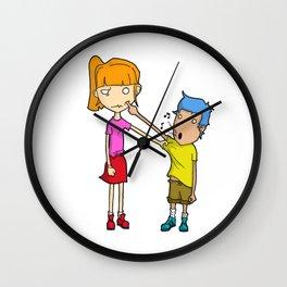 Penible Wall Clock