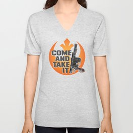 Come And Take It Unisex V-Neck