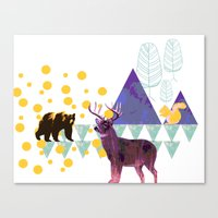 wildlife Canvas Prints featuring wildlife by the coulsons