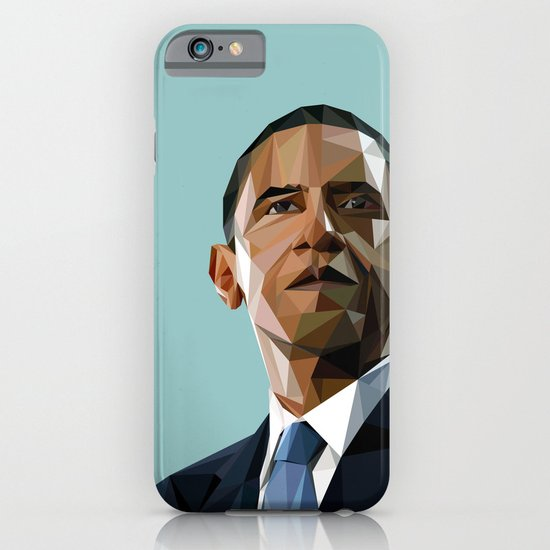 Geometric Obama iPhone & iPod Case