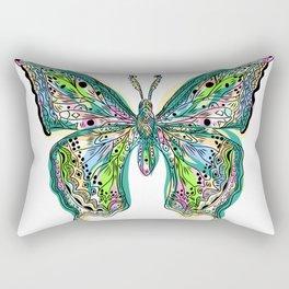 Fly Butterfly Rectangular Pillow